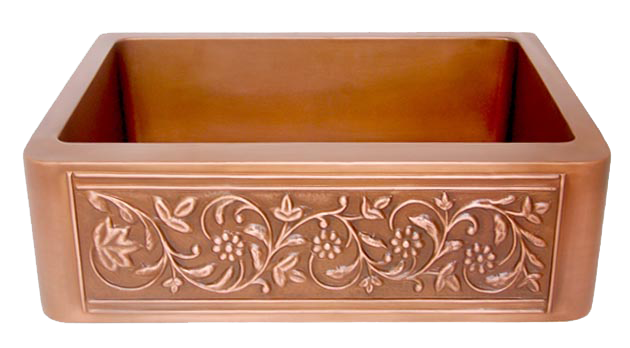 Copper Farmhouse Sinks For Sale | Discounted Copper Farm Sink ...