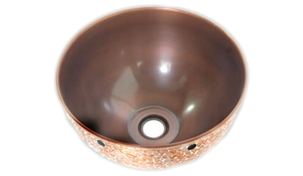 Discount Copper Bathroom Sinks | Copper Vessel Bathroom Sinks ...